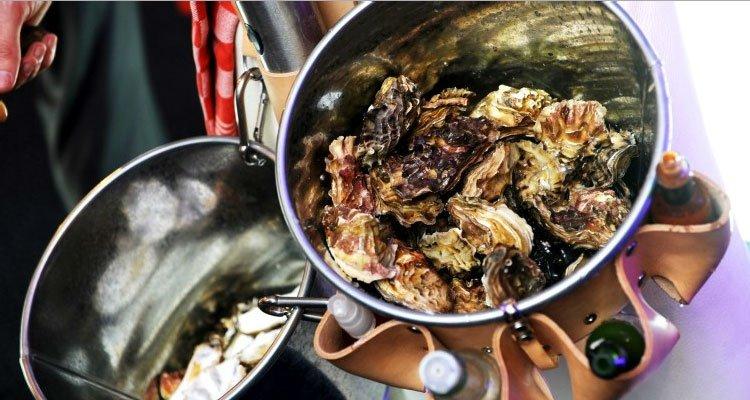 openen van oesters